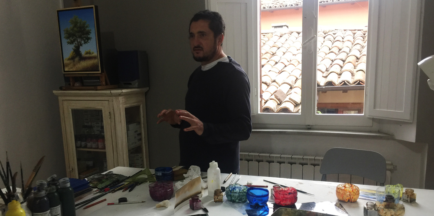 Sketch, Paint and Make in Italy with Alex Snellgrove