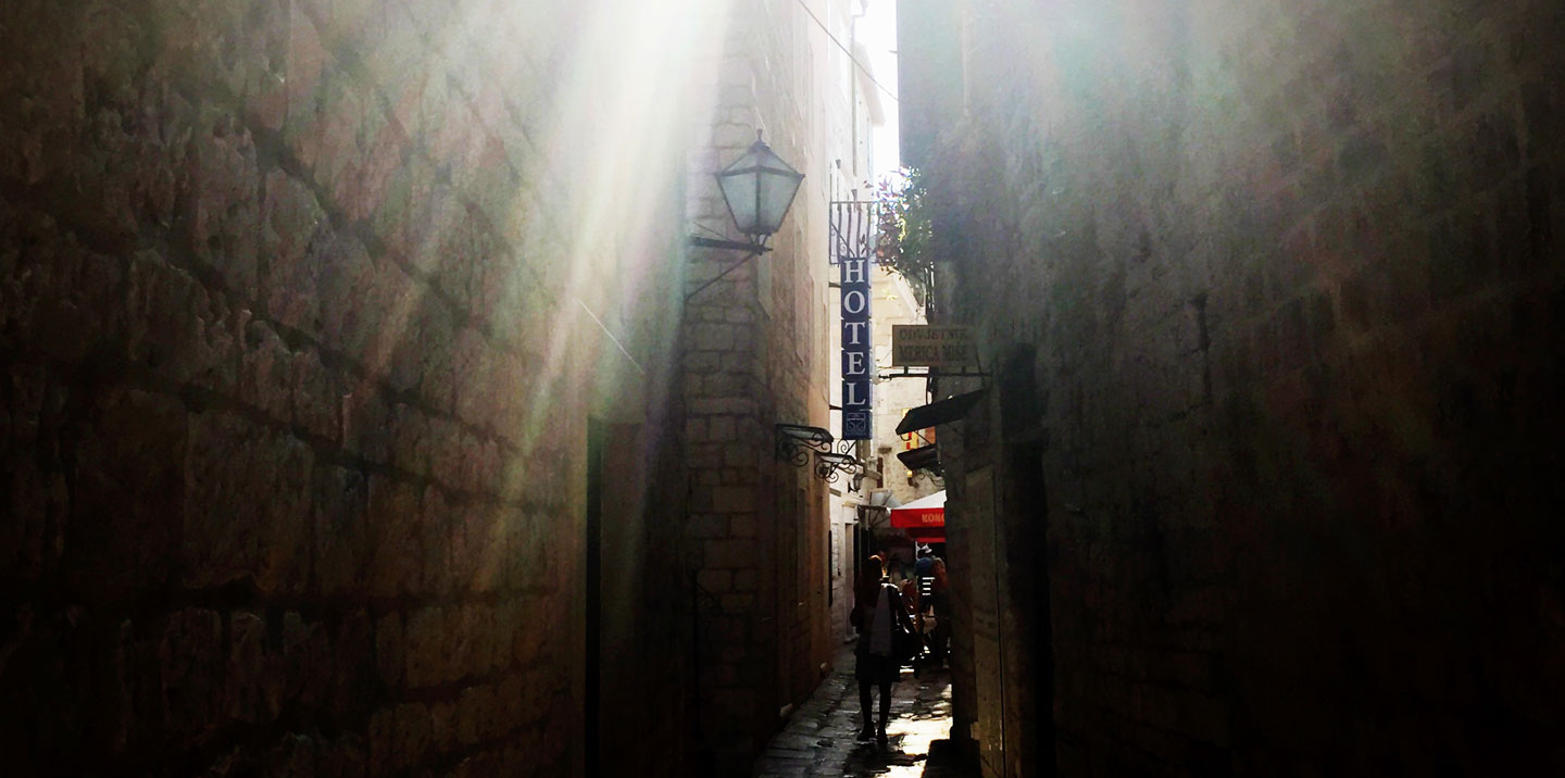 Light and Shade in Trogir