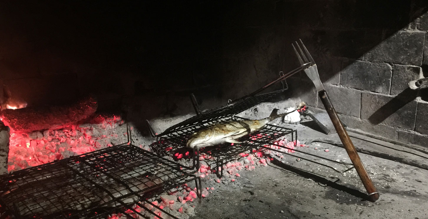 BBQ Fish in Konoba